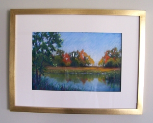 """Early Morning Autumn"" Pastel 24x18"